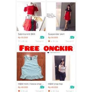 H&m Free ongkir bkk