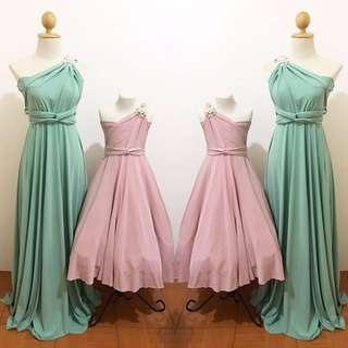Infinity Dress For Kids And Adult