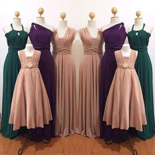 Infinity Dress For Adults And Kids
