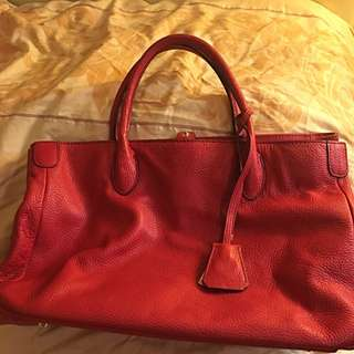 Rabeanco Leather Tote Bag