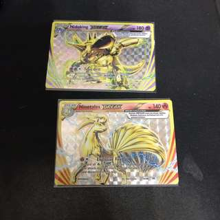 Pokemon XY Evolution Break Nidoking and Ninetales