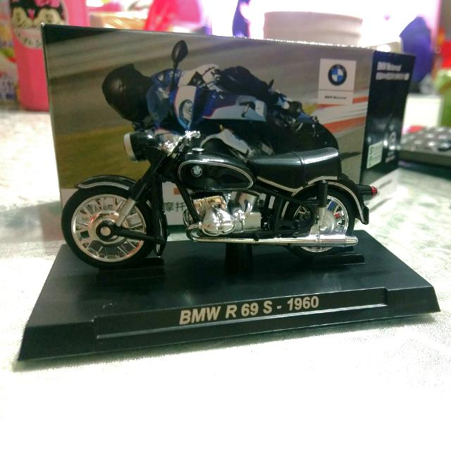 7-11 集點 德國 BMW 重型摩托車 模型組合