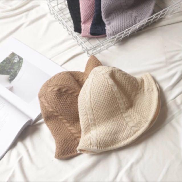 荷葉邊漁夫帽