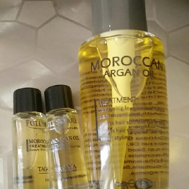 摩洛哥堅果油護髮,用量省!