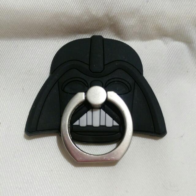 星際大戰黑武士 造型 手機指環架
