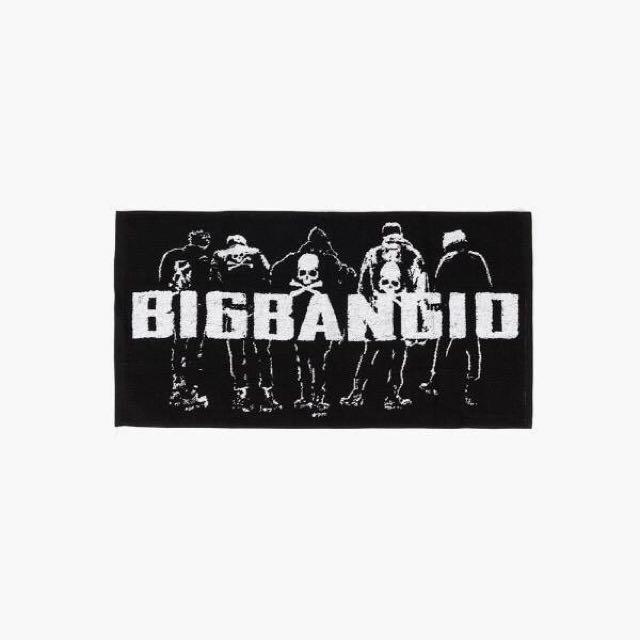正品 Bigbang 10th 應援毛巾