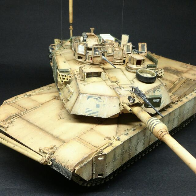 Abrams M1 Tusk 2