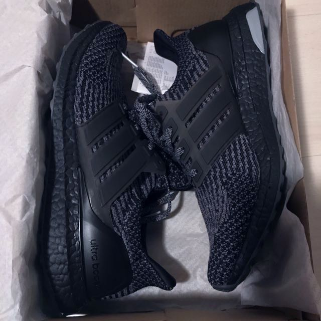 timeless design 7a5f6 6de7e Adidas Ultraboost 3.0 Black Grey BA8923 Core Black/ Grey