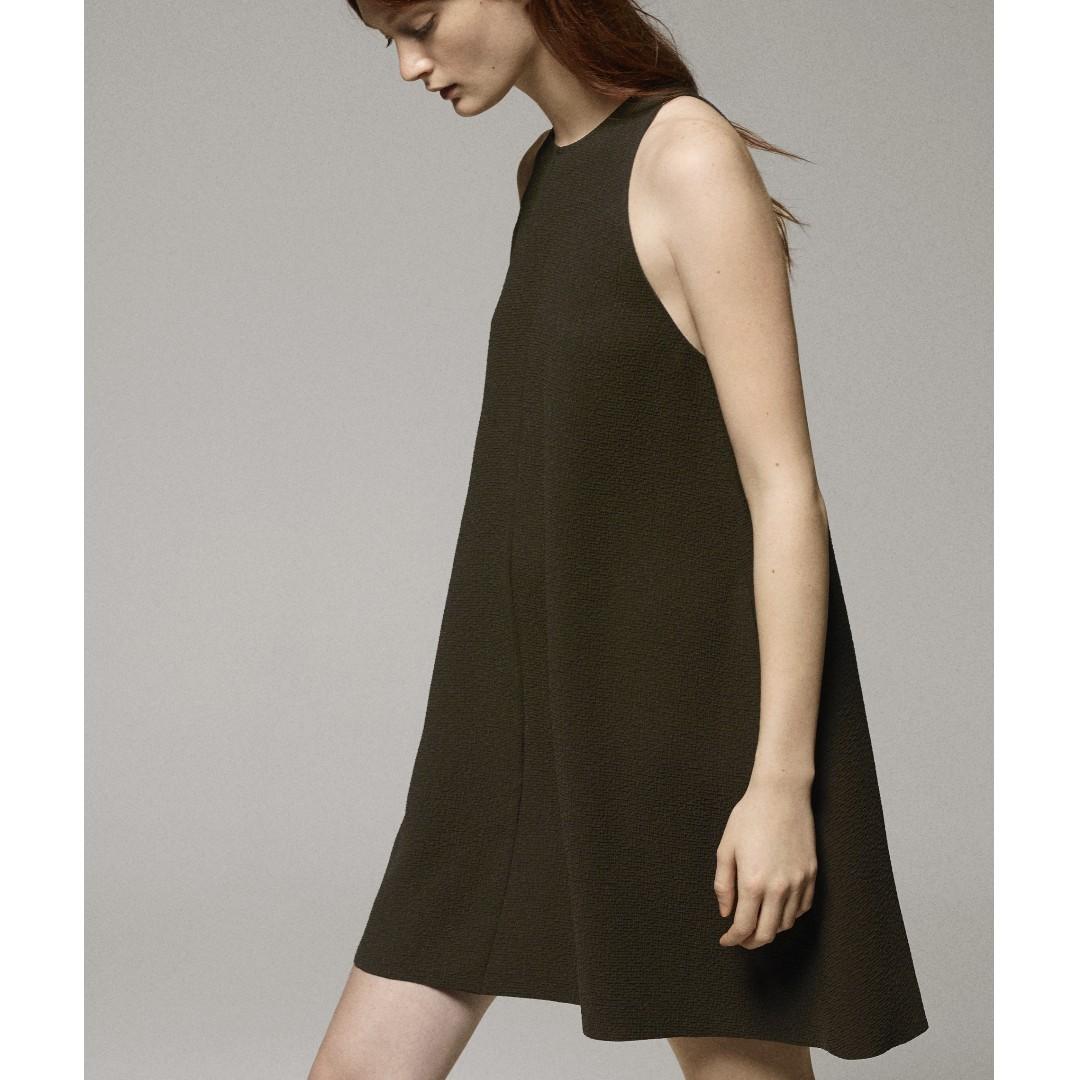 Aritzia Le Fou Black Trompette Dress size large