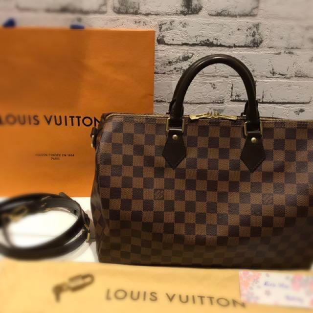 As New Louis Vuitton Speedy B 35 DE Rrp $1800