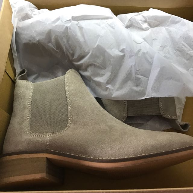 a1b2c46ff91 ASOS Absolute Suede Chelsea Ankle Boots