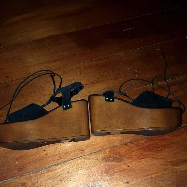 Asos Wooden Wedges Size 39
