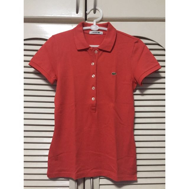 Authentic Lacoste Polo Shirt 5 Buttons