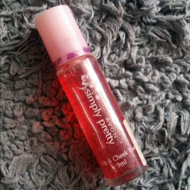Avon Lip And Cheek Tint