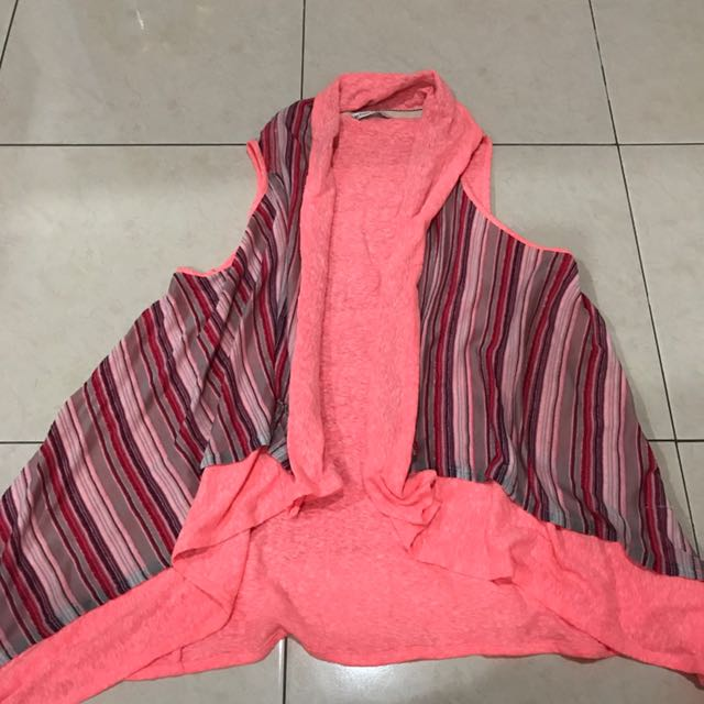 Banana republic neon vest outer
