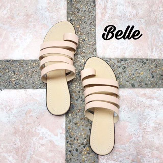 Belle Slippers and Sandals