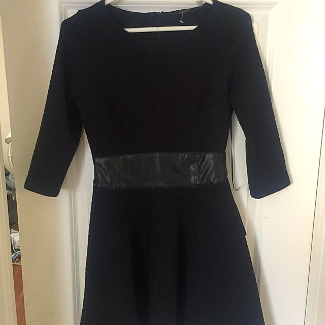 Black Flirty Dress - Suitable For Work