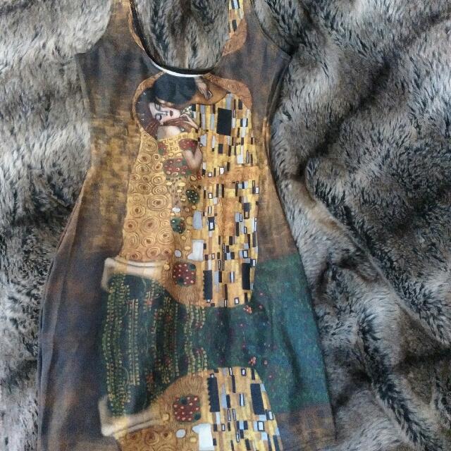 BLACKMILK size M Der Kuss Bodycon Dress