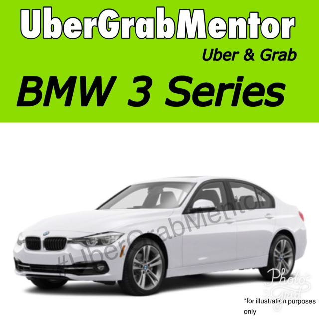 BMW 3 Series Uber Grab, Cars, Vehicle Rentals on Carousell