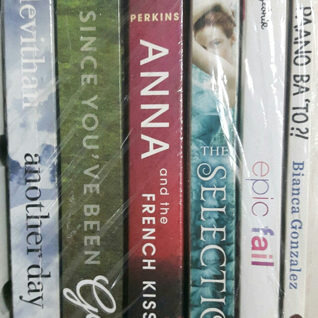 Anna and thr french kiss. the selection. Another day. epic fail