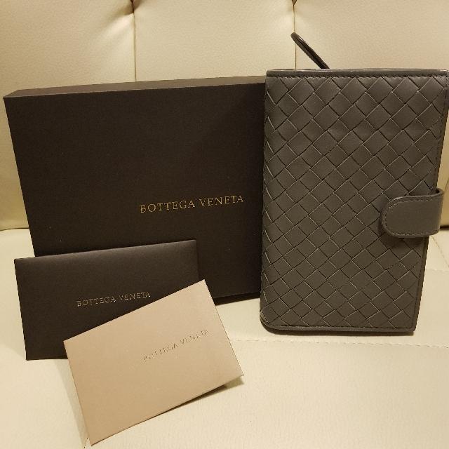 Authentic Bottega Veneta Intreciatto Nappa French Flap Wallet