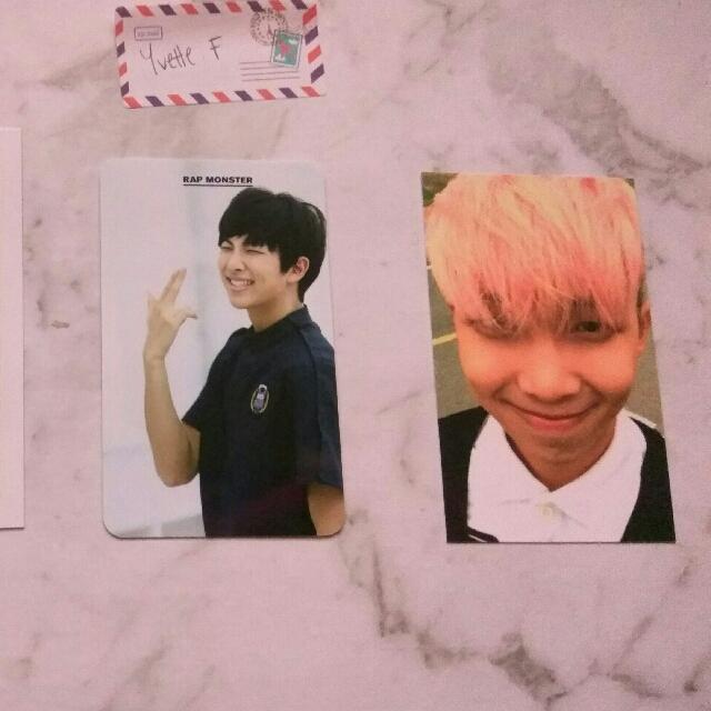 BTS Rapmon Photocards