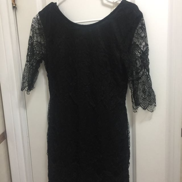 Buffalo - Little Black Lace Dress