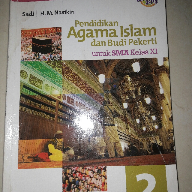 Buku Agama Islam Kelas 11 Kurikulum 2013 Penerbit Erlangga