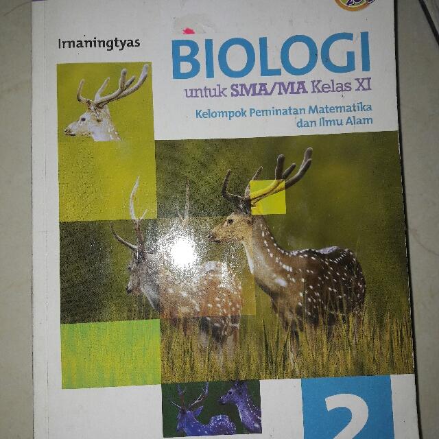 Buku Biologi Kelas 11 Kurikukum 2013 Erlangga