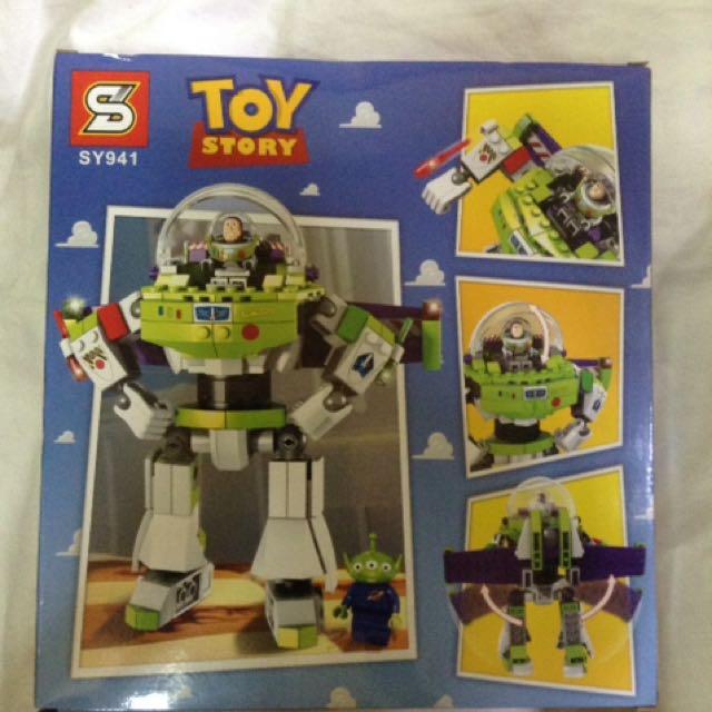 Buzz Lightyear Lego