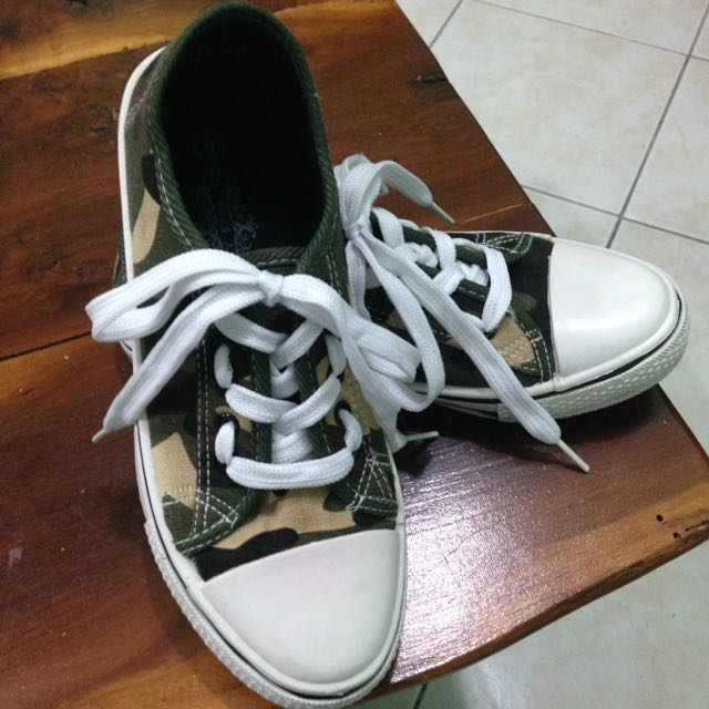 Charles Albert Camouflage Shoes