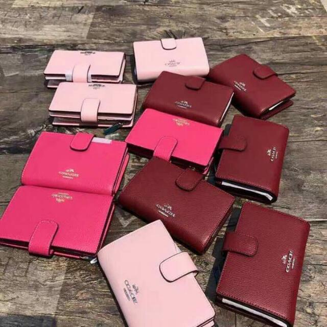 Coach Wallet (Maroon Only)
