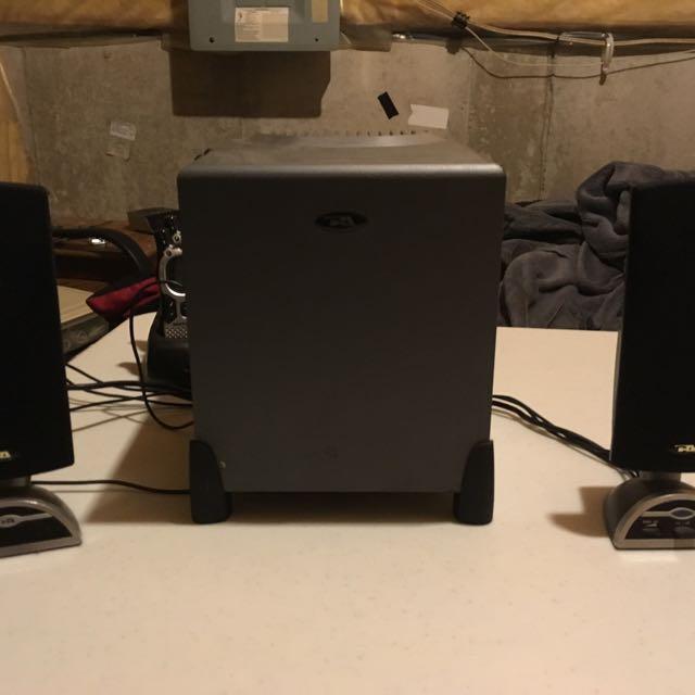 Computer Speakers & Woofer