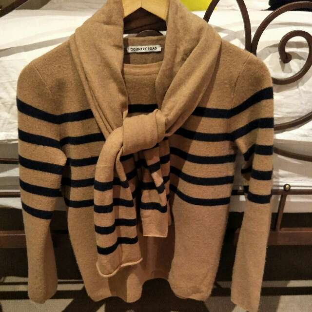 Country Road Jumper & Scarf