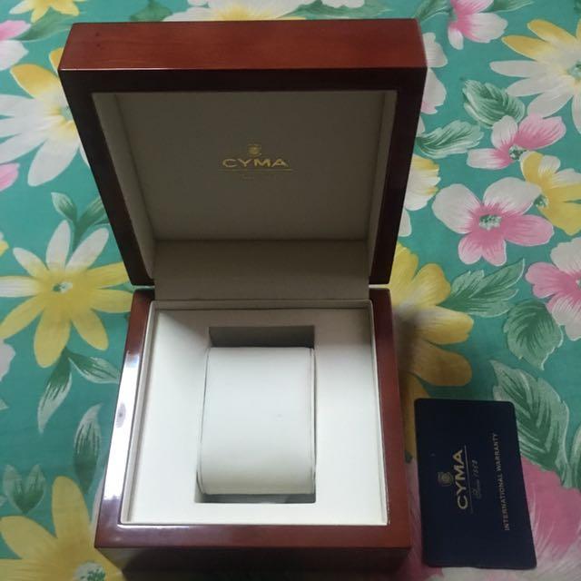 cyma watch box