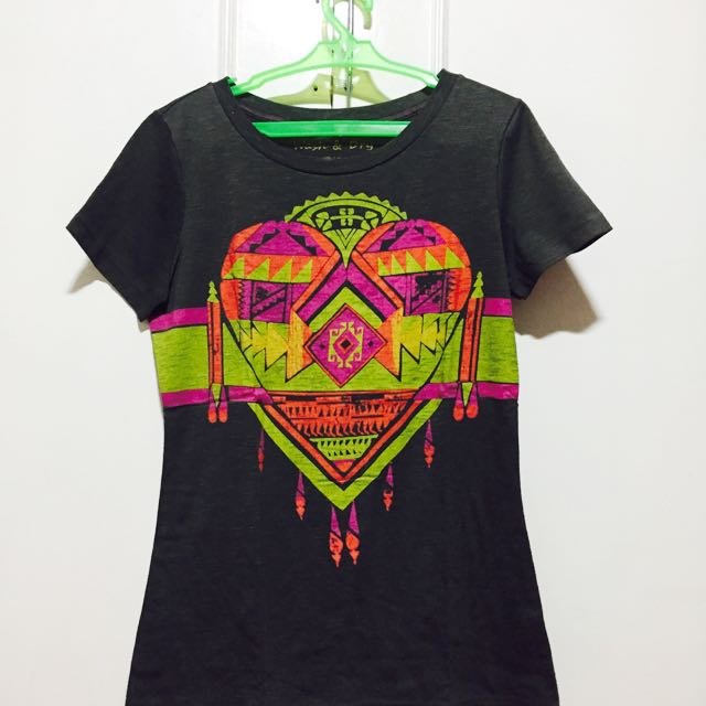 Dark Gray Aztec Shirt