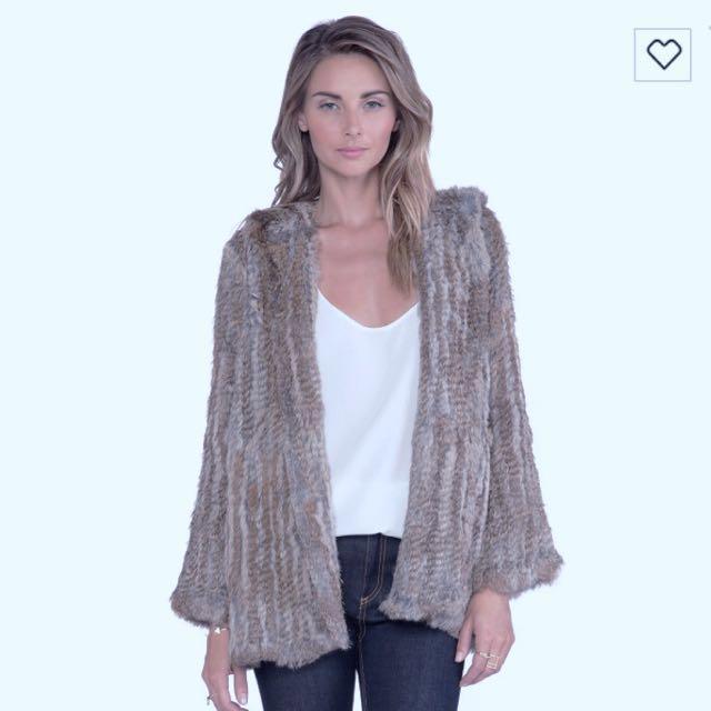 Designer Fur Coat (525)