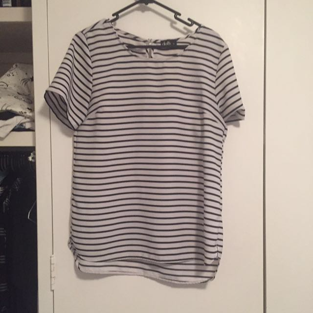 Ditto Stripe Tee