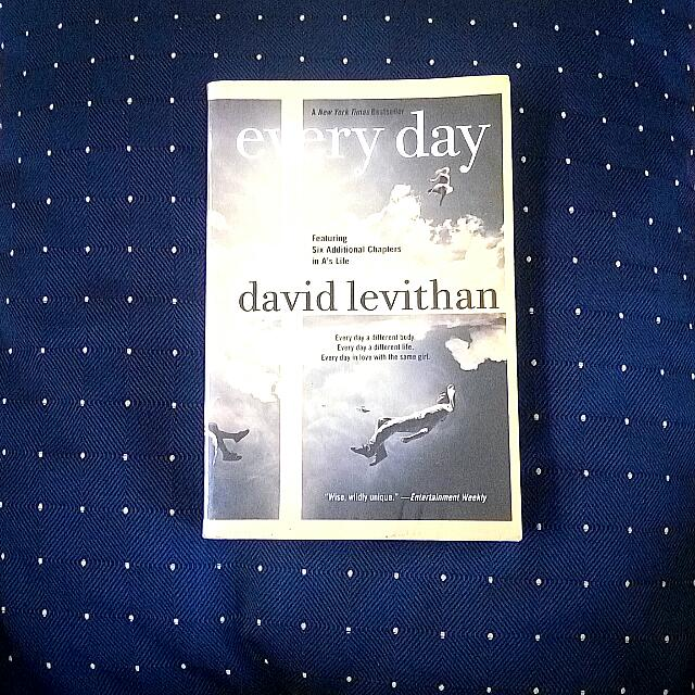 REPRICED: Every Day by David Levithan