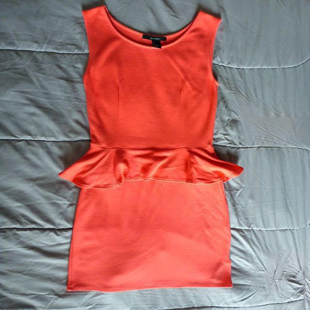 Forever21 Peplum Dress (Small)