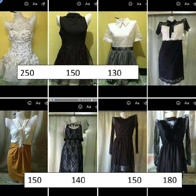 FREE! 1pc Dress In Every 4pcs Purchase