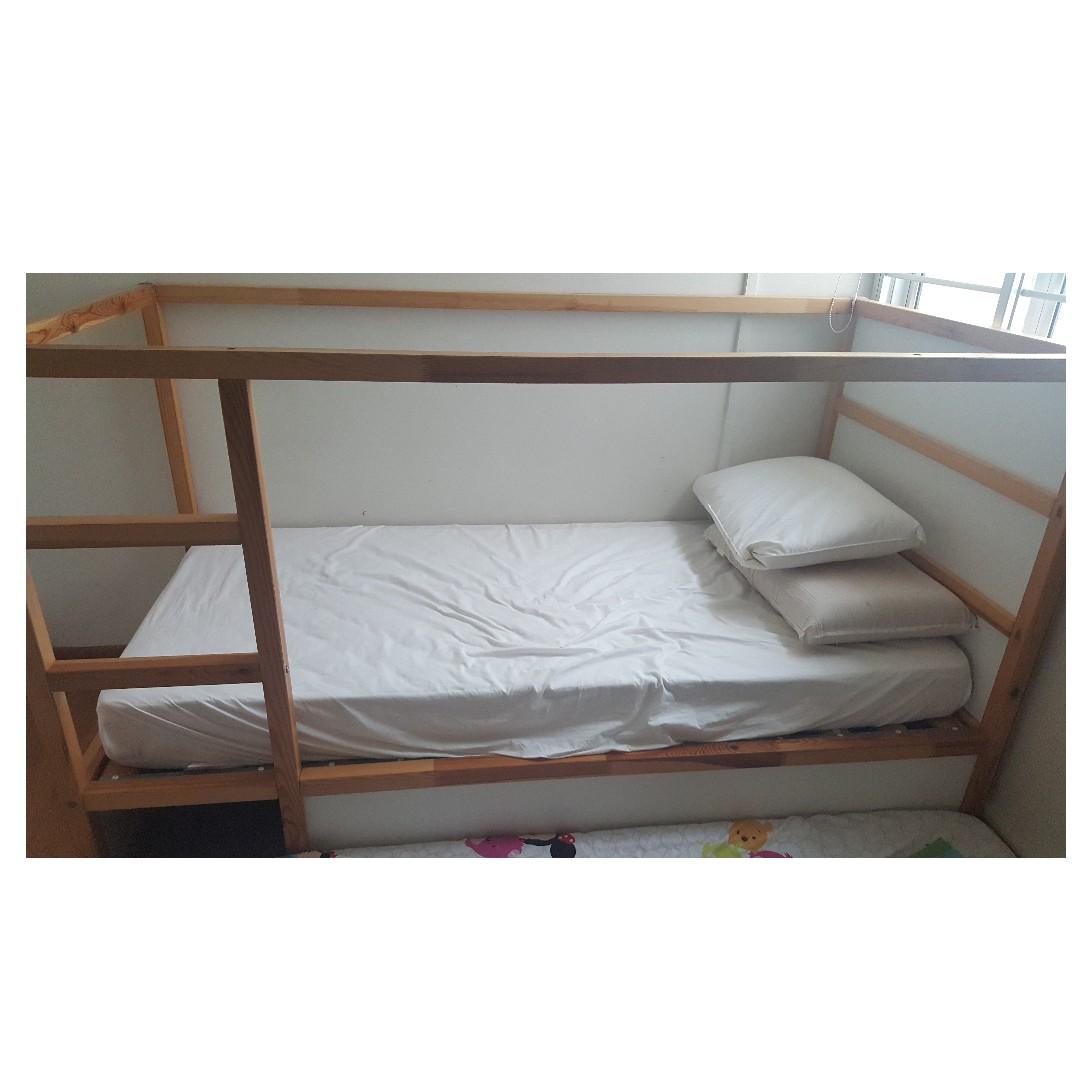 Free Ikea Kura Reversible Bed Frame Furniture Home Living Frames Mattresses On Carousell