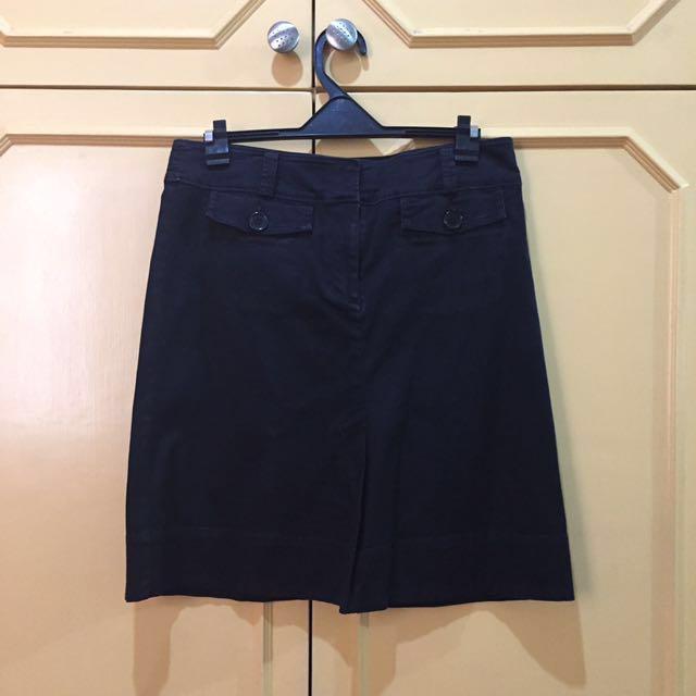 G2000 Black Stretchable Skirt