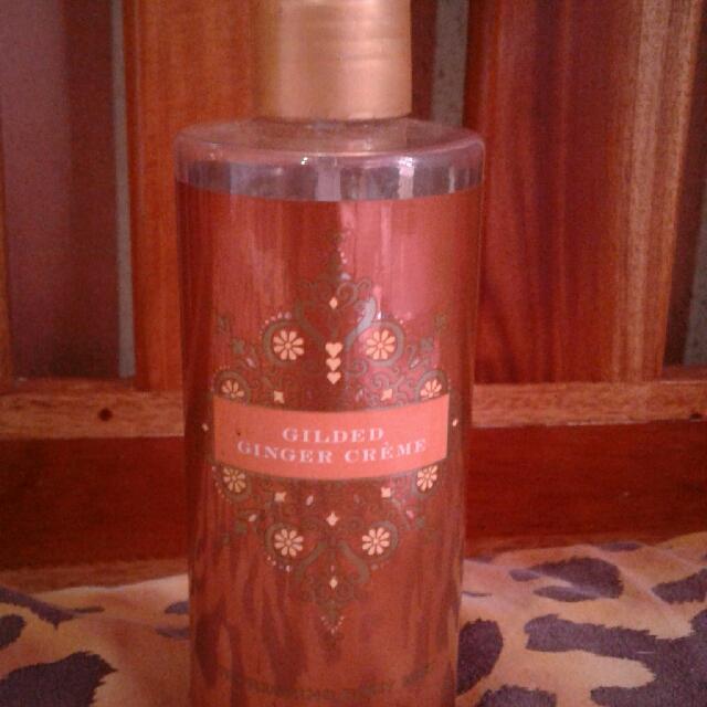 Gilded Ginger CremeRefreshing Body MistVictoria's Secret(Authentic)