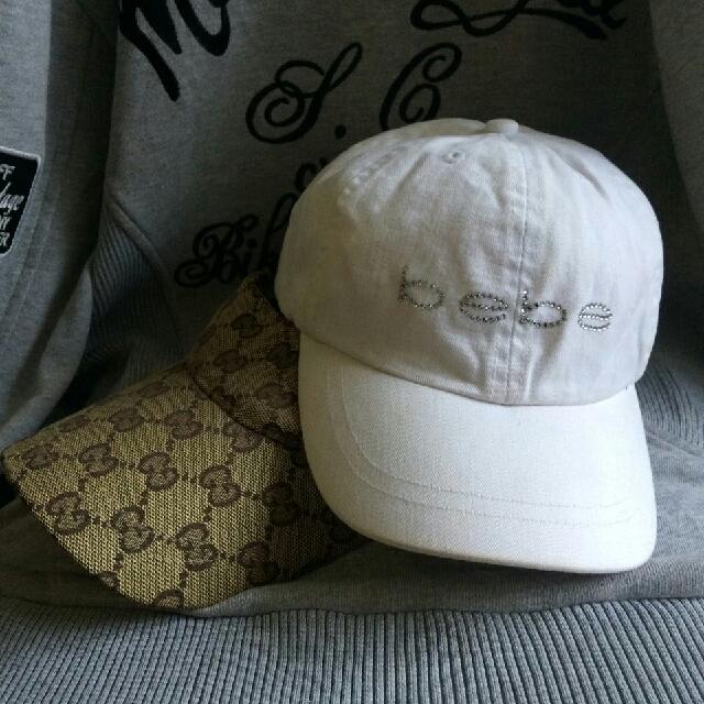 GUCCI & BEBE 2 pcs PRELOVED HAT