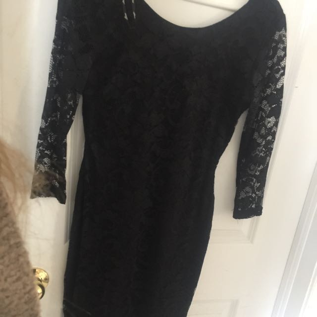 Guess - Black Lace Dress