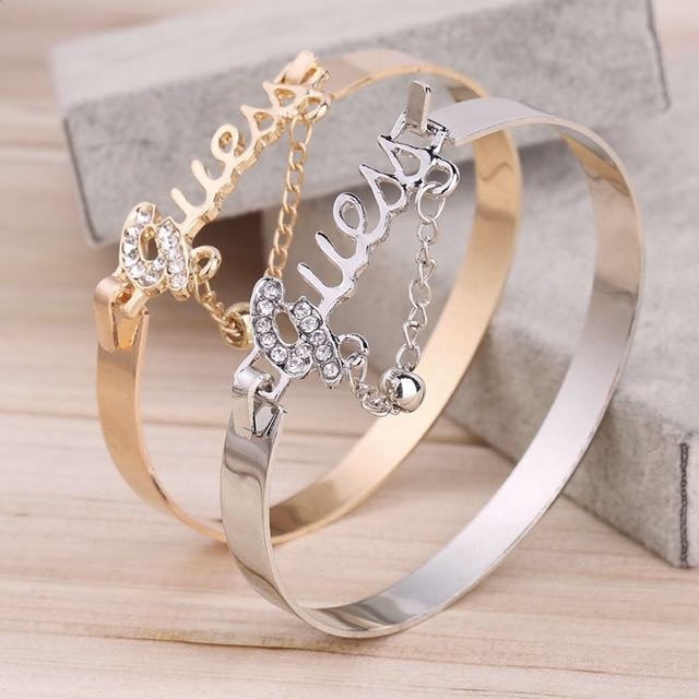 Guess Charm Crystal Bracelets