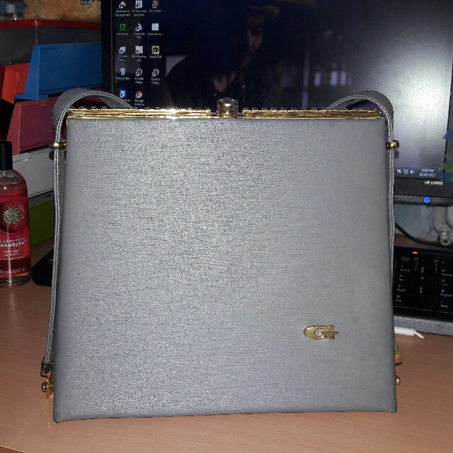 Hand Bag Grey for Party