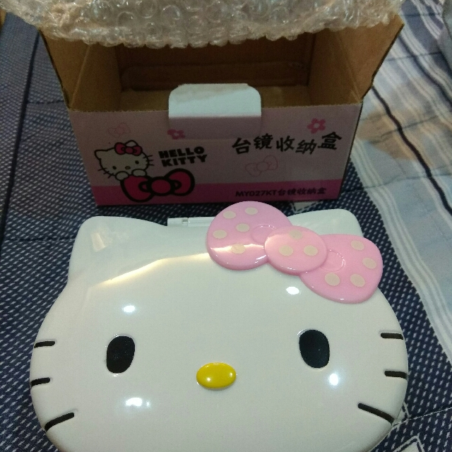 Hello Kitty收納盒