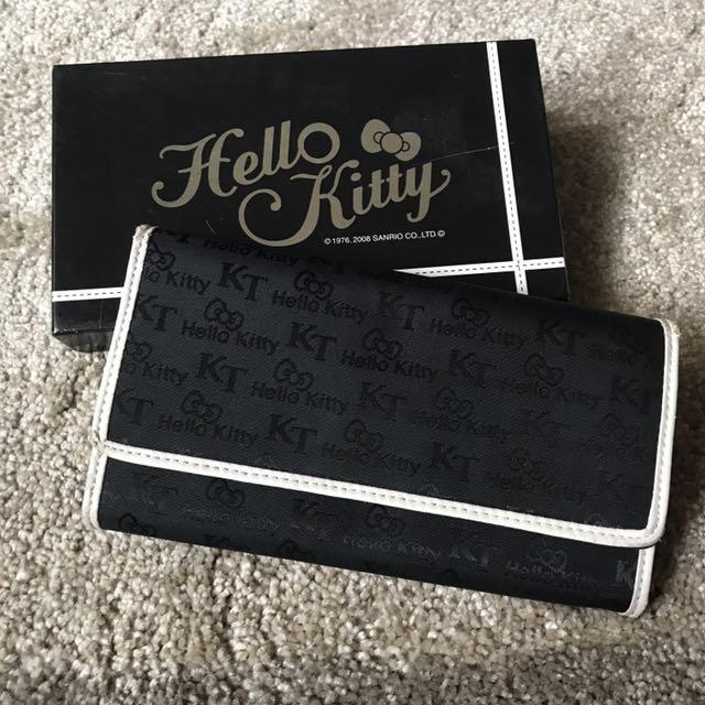 Hello Kitty Black Wallet